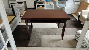 Small desk with cherry finish good condition for Sale in Bellevue, WA