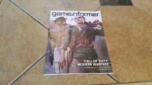 Game Informer Call of Duty Modern Warfare September 2019 Issue 317 for Sale in Sun Lakes, AZ