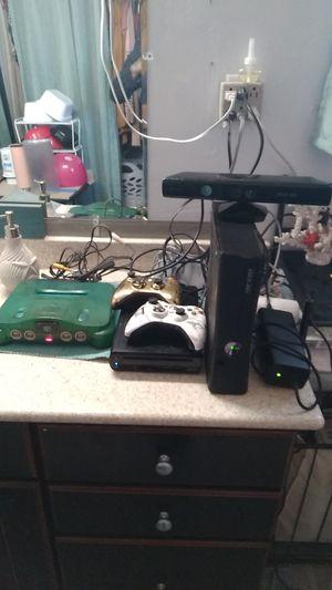 Xbox 360, Wii U, and Nintendo 64 for Sale in Buckeye, AZ