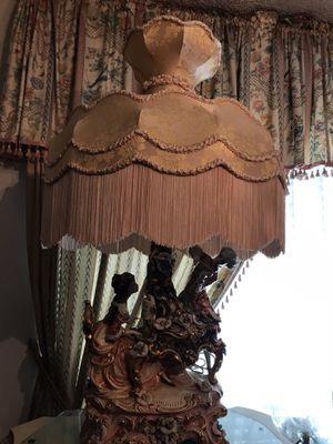 Capodimonte lamp for Sale in Claremont, CA