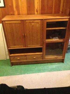 IKEA Entertainment Center for Sale in Silver Spring, MD