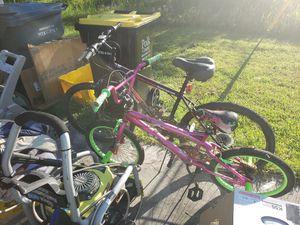 Small bike 20 big bike 35 big bike is brad new for Sale in Kissimmee, FL