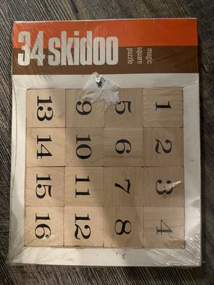 34 Skidoo game puzzle for Sale in Lake Forest, CA