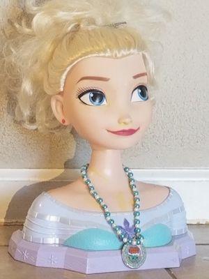 Kids Elsa head long hair for Sale in Glendale, AZ