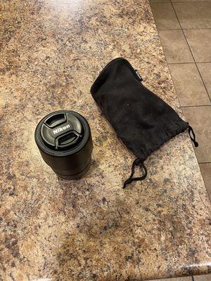 Nikon camera Lens and bag for Sale in Gilbert, AZ