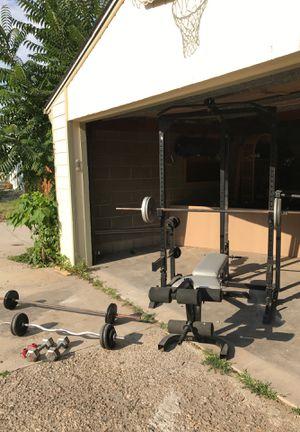 Home gym - squat rack for Sale in Denver, CO