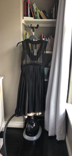 New Banana Republic chiffon black and cream dress for Sale in Houston, TX