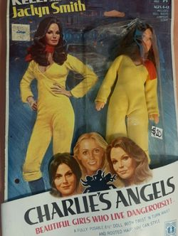 """HASBRO Kelly Starring as Jaclyn Smith Charlie's Angels 8.5"""" Posable Doll 1977. for Sale in Azusa,  CA"""