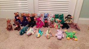 Beanie baby lot from 90s. for Sale in Louisville, KY