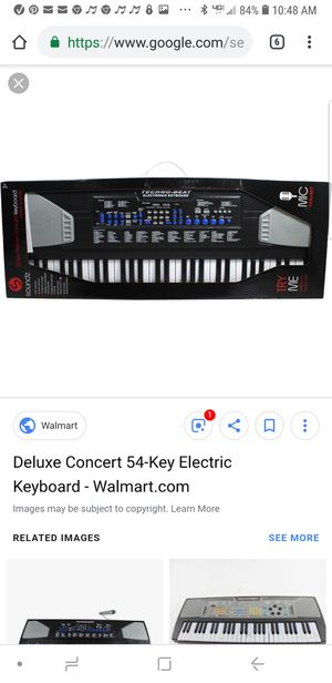 Deluxe Concert 54-Key Electric Keyboard perfect for Christmas. Retail price $29.97. for Sale in Chula Vista, CA