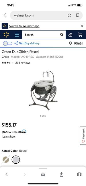 Grace glider/ pet and smoke free for Sale in Hesperia, CA