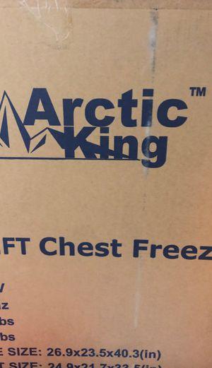 Brand new Arctic king freezer 5 CU ft. for Sale in San Antonio, TX