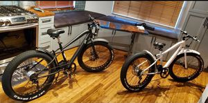 "26"" 4.0 inch Fat Tire 36V 300W Bicycle - Electric Mountain Cruiser e-bike for Sale in Hallandale Beach, FL"