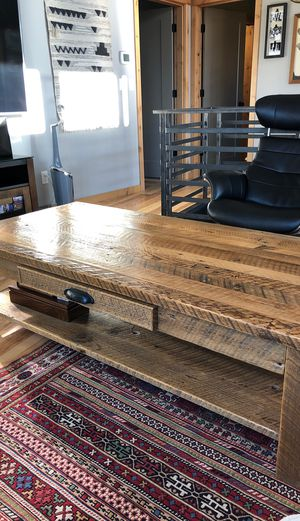 Barn Wood Coffee Table for Sale in Bend, OR