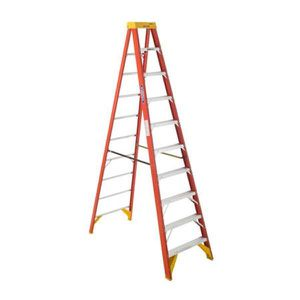 10' Warner fiberglass step ladder. Class A1 for Sale in Hopkins, MN