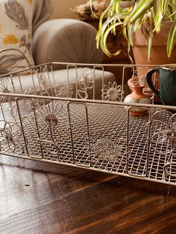 vintage metal decorative tray | rust&rue for Sale in Denver,  CO