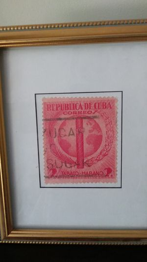 Enlarged Cuban Stamp Picture for Sale in Miami, FL
