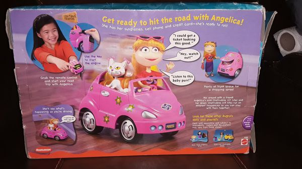 2001 Rugrats Angelica's R/C Chatmobile