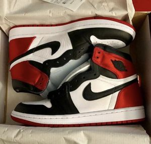 "Jordan 1 ""Satin Black Toe"" ⛽️ for Sale in Haines City, FL"