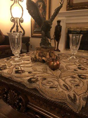 2 elegant crystal vases for Sale in Poway, CA