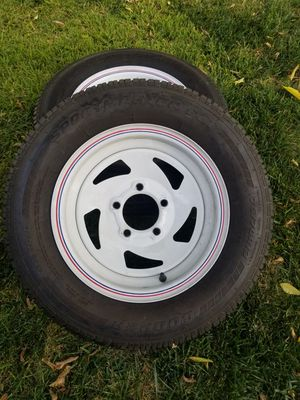"(2) trailer tires 13"" for Sale in Long Beach, CA"