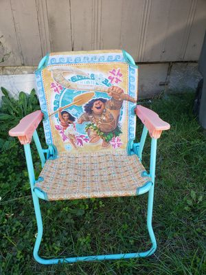 Camping chair moana for Sale in Renton, WA