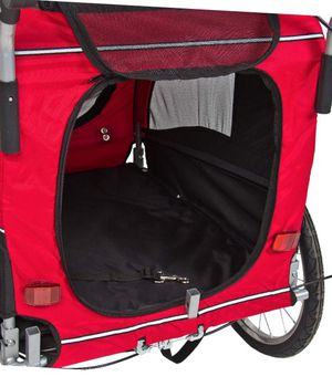 Best Choice Products 2-in-1 Pet Stroller and Trailer w/Hitch, Suspension- Red for Sale in Ashburn, VA