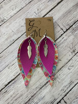 Leather Earrings for Sale in Bartlesville, OK