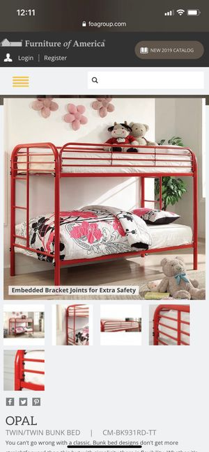 Bunk Bed (mattress sold separately) for Sale in Yuba City, CA