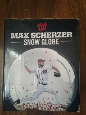 Collectible Max Scherzer Snow Globe for Sale in Washington, DC