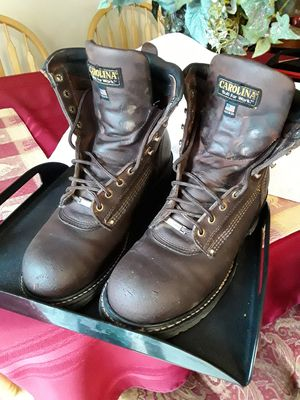 "8 ""CAROLINA WORK BOOTS for Sale in Salt Lake City, UT"