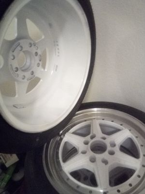 Rims 15 inch racing rims xxr used fresh new paint universal 4 lug 5 lug honda toyota for Sale in Los Alamitos, CA