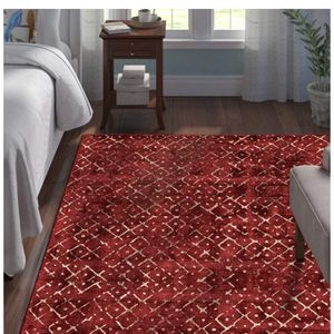 Handmade Area Rug in Red Rug for Sale in Hialeah, FL