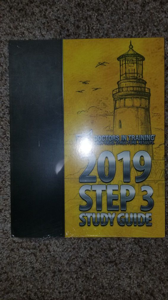 Dit doctor's in training 2019 step 3 book only