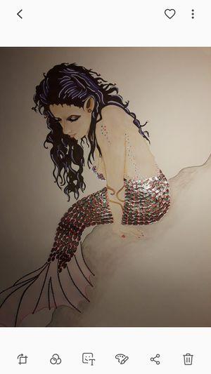 Mermaid artwork for Sale in San Angelo, TX