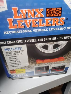 LYNX LEVELERS THE ORIGINAL RV LEVELING SYSTEM for Sale in Kissimmee, FL