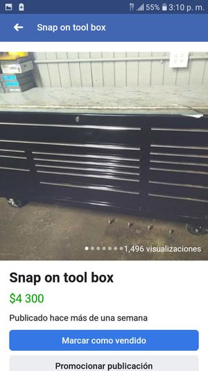 Snap on tool box for Sale in Powder Springs, GA