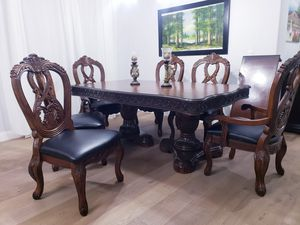 Dining table and 6 chairs for Sale in Glendale, AZ