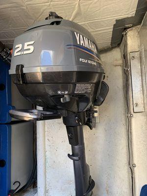 2013 Yamaha 2.5 HP 4-stroke outboard motor for Sale in Everett, WA