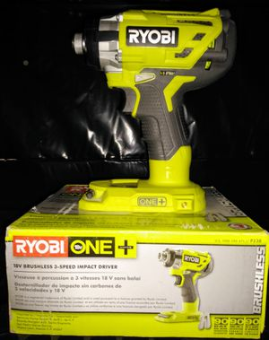Ryobi Brushless 18 volt impact driver for Sale in Dallas, GA
