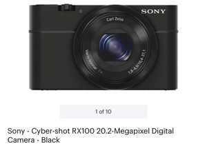Sony cyber-shot RX-100 20.2 MP camera for Sale in Woodbridge, VA