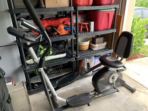 Pro-form Hybrid Trainer Elliptical and Recumbent Bike for Sale in Lake Worth, FL