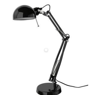 BLACK LAMP DESK LIKE NEW ! for Sale in Washington, DC