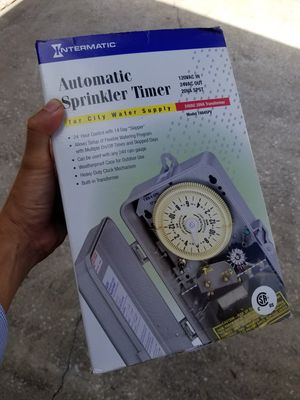 Intermatic automatic sprinkler timer for Sale in Clearwater, FL