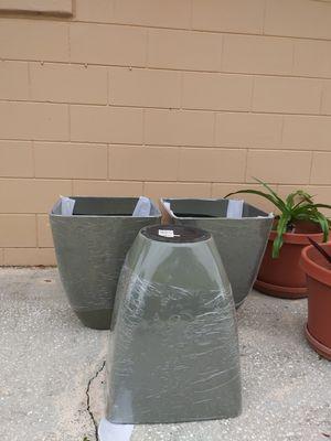 New flower pots for Sale in Lakeland, FL