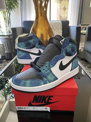 Nike Air Jordan 1 High Tie Dye Sz 9.5 Wmns /8 Men First Come First Served! for Sale in Mission Viejo, CA