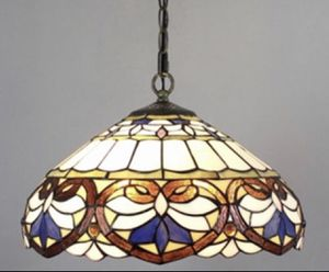 "AMORA LIGHTING TIFFANY- ""NEW"" - The rich baroque style is captured elegantly in this bright pendant-light accented with colorful pattern for Sale in Los Angeles, CA"