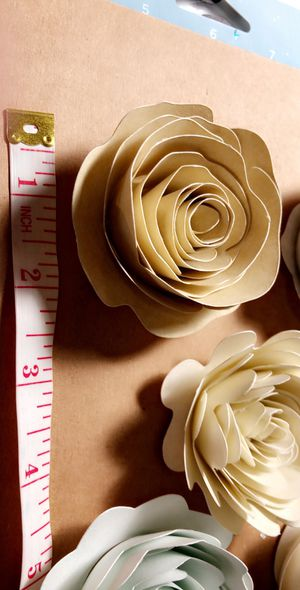 Paper flowers. for Sale in Dallas, TX