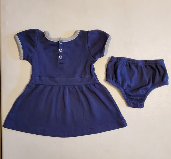 NY Yankees Girls 12 Mo. Dress