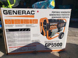Generac 5500 watt portable generator for Sale in Auburndale, FL